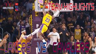 Lakers Vs Cavs | Full Game Highlights | January 13, 2020