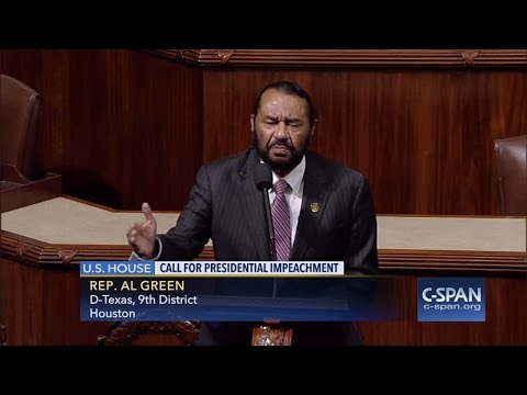 Watch Rep. Al Green call for Trump