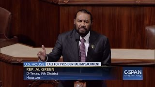 Watch Rep. Al Green call for Trump's impeachment