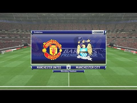 PES 2016 (PC) MANCHESTER UNITED - MANCHESTER CITY
