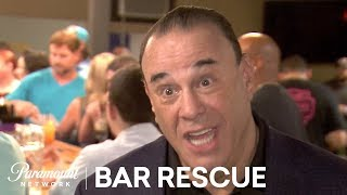 'The Crew Blows the Stress Test' Official Highlight   Bar Rescue (Season 6)