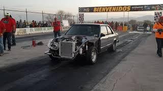 Ford  Fairmont 351 TURBO vs DRAGSTER
