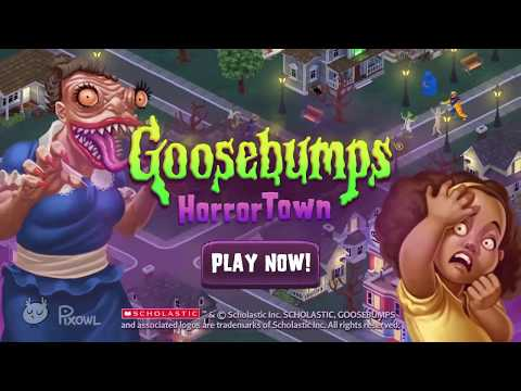 Goosebumps HorrorTown - Gameplay Trailer for iOS & Android