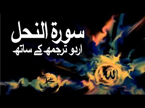 Surah An-Nahl with Urdu Translation 016 (The Bee)