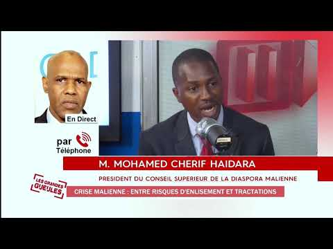 CRISE MALIENNE Entre risque d'enlissement et tractation Mohamed Cherif HAiDARA