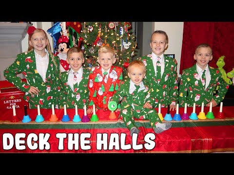 Deck the Halls - Kids Handbell Choir Family Christmas Song Mp3