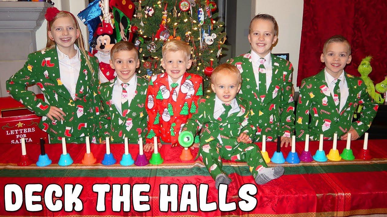 Deck the Halls — Kids Handbell Choir Family Christmas Song