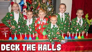 Deck the Halls - Kids Handbell Choir Family Christmas Song