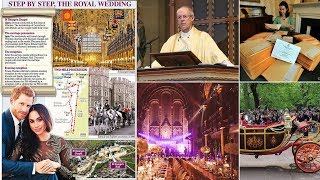 The LATEST details of Harry & Meghan's royal wedding plans: party, carriage, parade and routes ...