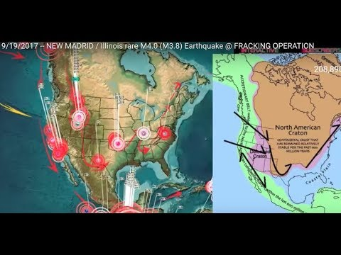 Mississippi River Mysteriously Dry - Precursor for New Madrid Earthquake?