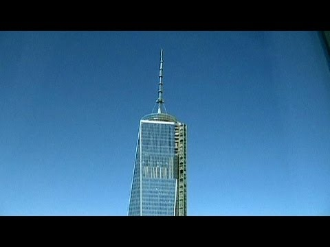 New Yorkers applaud World Trade Center comeback with the opening of tower four