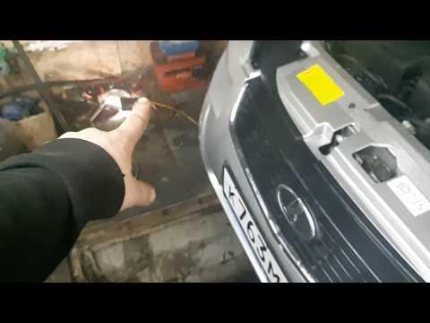 Снятие основного радиатора охлаждения с приоры 2. ЧАСТЬ 1