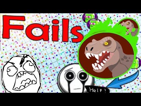 AGARIO TOP 5 FAILS 12 | Agar.io |