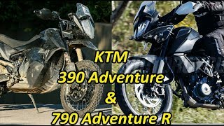 KTM 390 Adventure AND 790 Adventure R | What to Expect From The Austrian Gaint??
