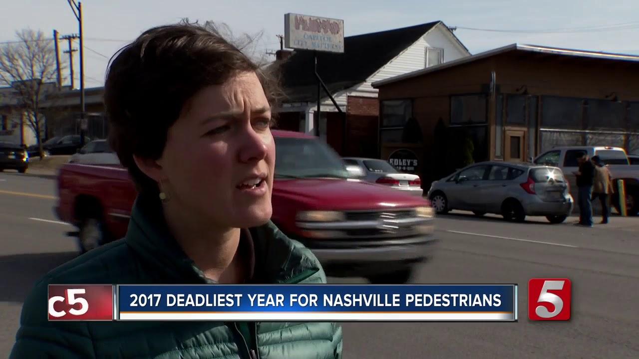 23 Pedestrians Were Killed On Nashville Roadways In 2017 ...