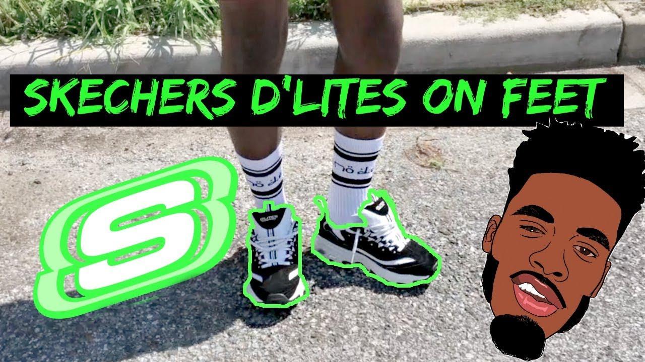 Skechers D'Lites On Feet + In depth review