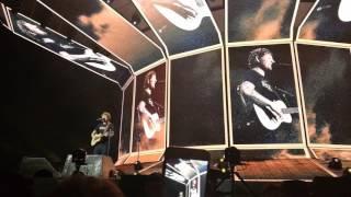 Ed Sheeran Castle on the Hill Live in Dublin April 12, 2017