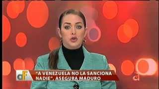 Sanciones de EE.UU. desatan la ira en Venezuela  - América TeVé