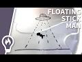Floating stick man explained