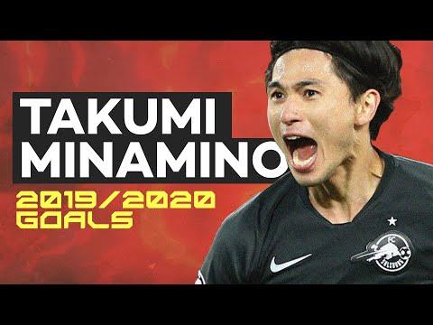 Takumi Minamino (南野 拓実) | All Goals so far in the 2019/2020 season