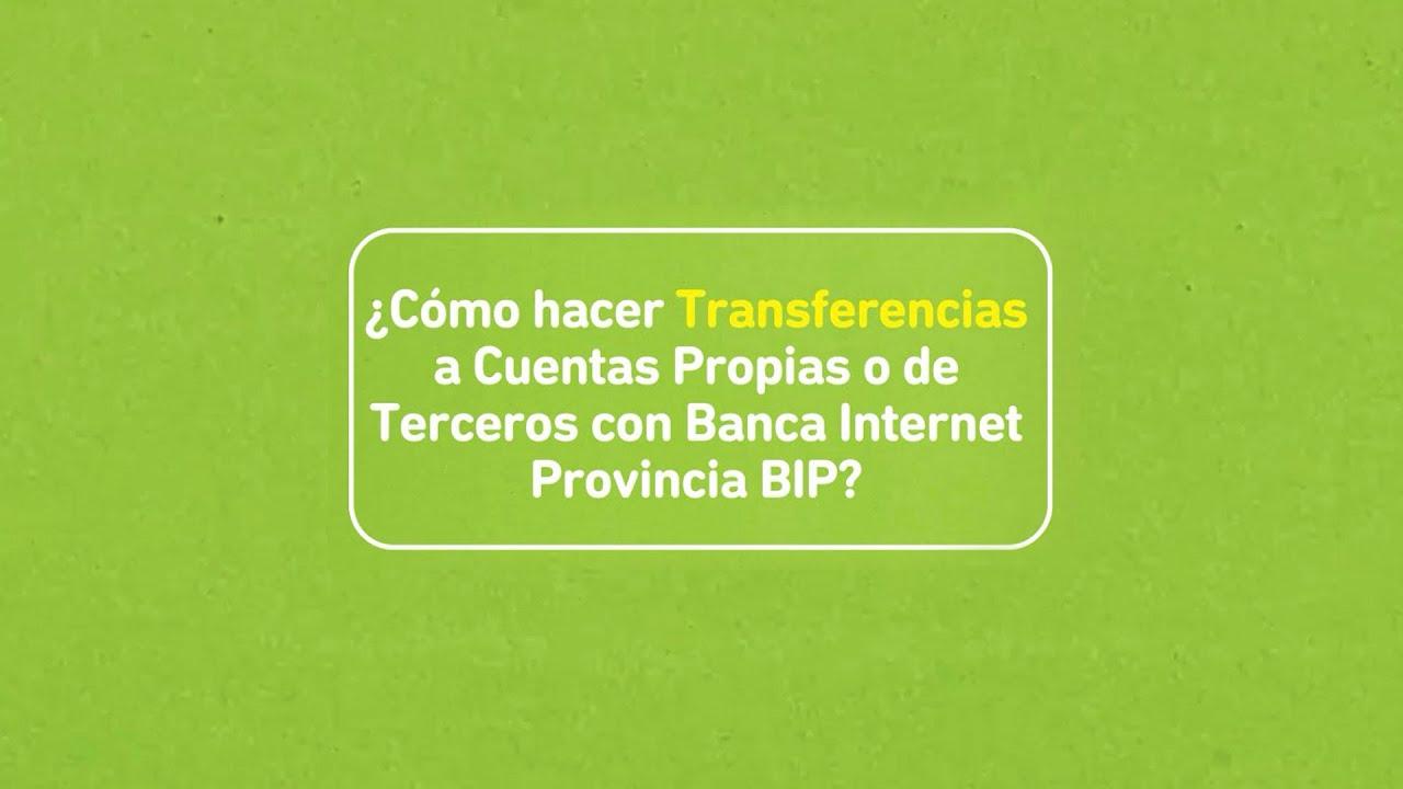 Banco Provincia Buenos Aires Tutorial Transferencias A