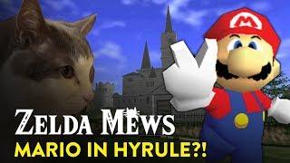 MARIO GOES TO HYRULE?! | Zelda Mews