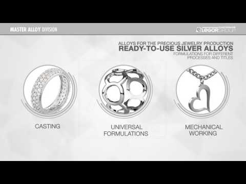 3 - Alloys for the Precious Jewelry production