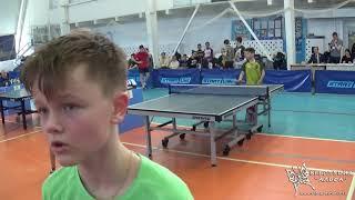 Уедраго Марк и Уедраго Родион. Турнир по настольному теннису город Гагарин 9-11 апреля