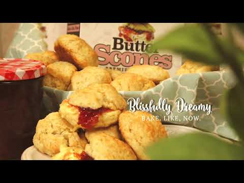 Blissfully Dreamy Butter Scones using BBBmix Butter Scones Premix by Brown Butter Bakes (updated)