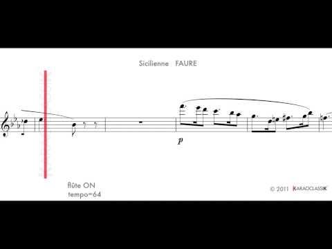 Sicilienne FAURE t64 flute ON