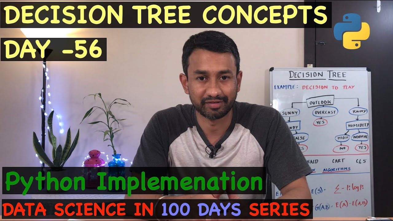 Day 56 - Decision Tree Python Implementation