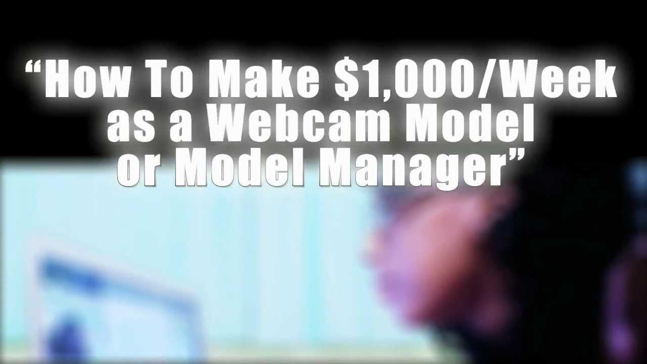 How to webcam model