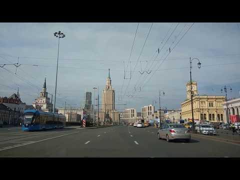 . Москва-Комсомольская-Тульская-Варшавка-МКАД-МЕГА. Поездка
