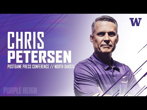 Football: Coach Petersen Postgame Press Conference (North Dakota)