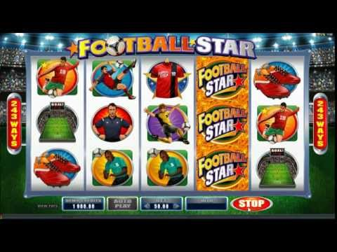 Football Star - Video Slot With 243 Ways To Win By Microgaming