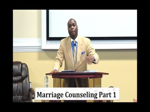 "IOG Bible Speaks - ""Marriage Counseling - Part 1"""