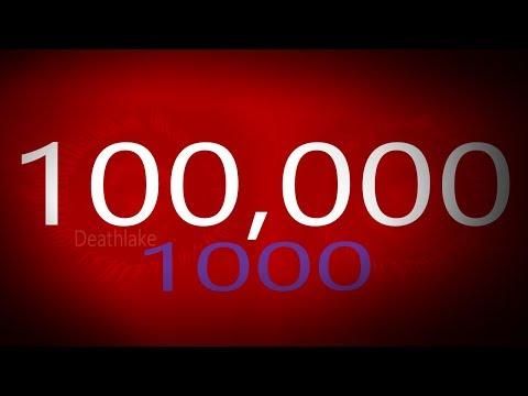 100,000 views 1000 subscribers milestone !/ Art animation speedpaint channel / Deathlake