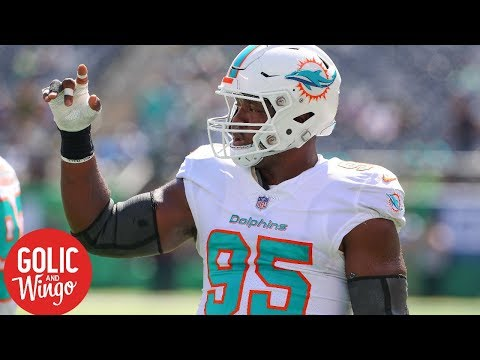 Roughing the passer penalty surge costs Dolphins DE William Hayes 2018 season  Golic & Wingo   ESPN