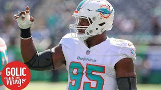 Roughing the passer penalty surge costs Dolphins DE William Hayes 2018 season| Golic & Wingo | ESPN
