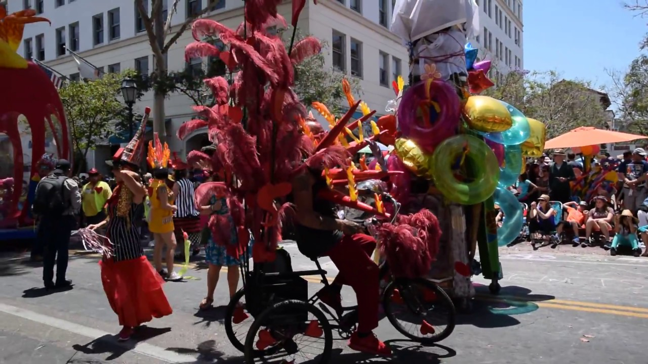 Santa Barbara Summer Solstice Parade 2017 (3 of 4) - YouTube