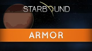 Starbound Armour - Protect yourself!