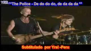 The Police - De Do Do Do, De Da Da Da ( SUBTITULADA INGLES ESPAÑOL )