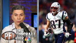 PFTOT: Is Gronkowski distracting Patriots? Zeke's preparation | Pro Football Talk | NBC Sports