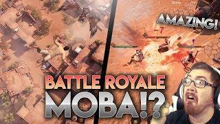 NEW BATTLE ROYALE MOBA!? [ft. XenoTek] King of Hunters