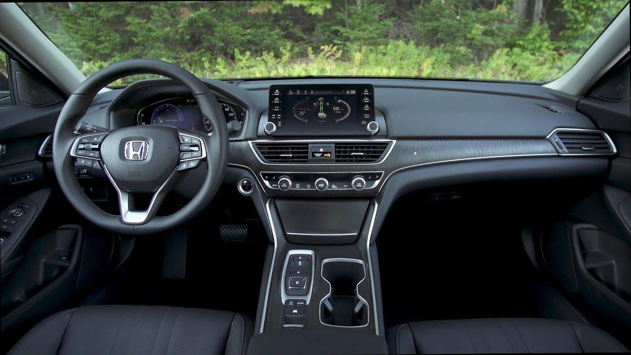 2018 Honda Accord Hybrid Interior Us Spec