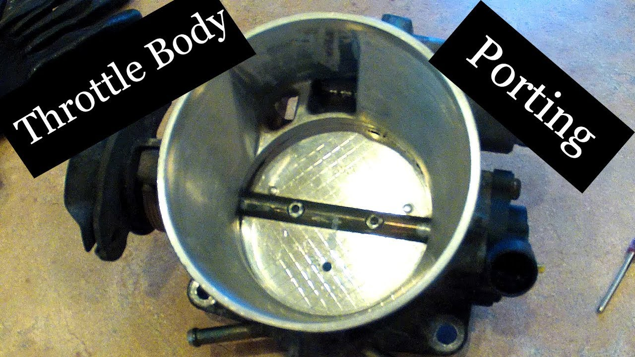 DIY Chevy Throttle Body Port and Polish