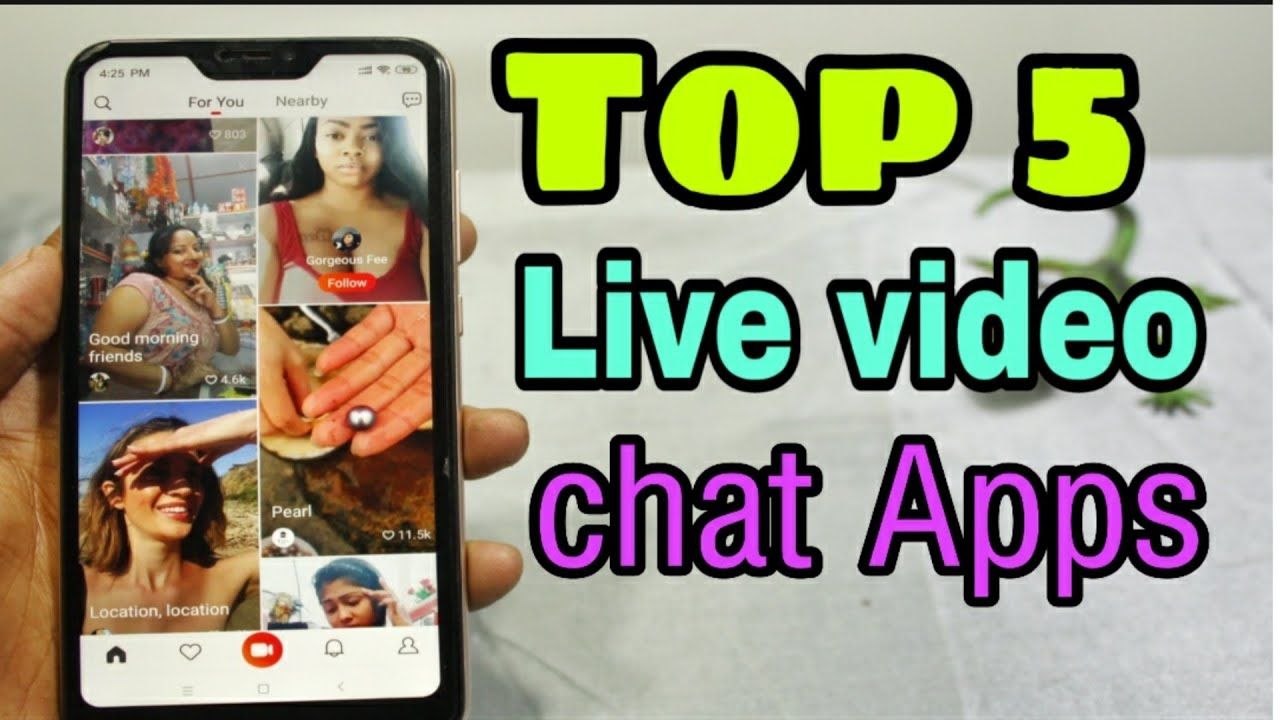 best free live video chat app