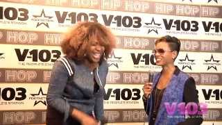MC Lyte At The V-103 Hip Hop Conference With Ramona DeBreaux