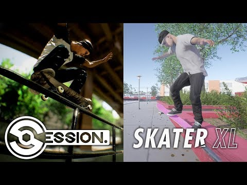 Skater XL vs Session - Which game will be better ? feat. Nightspeeds