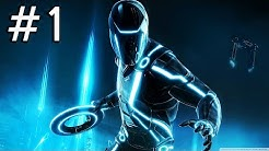 Tron Evolution Gameplay Playthrough Part 1 - The Grid -  Chapter 1